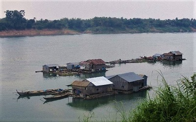 Vietnamese Floating Village