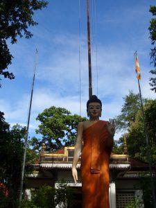 Pagoda retreat