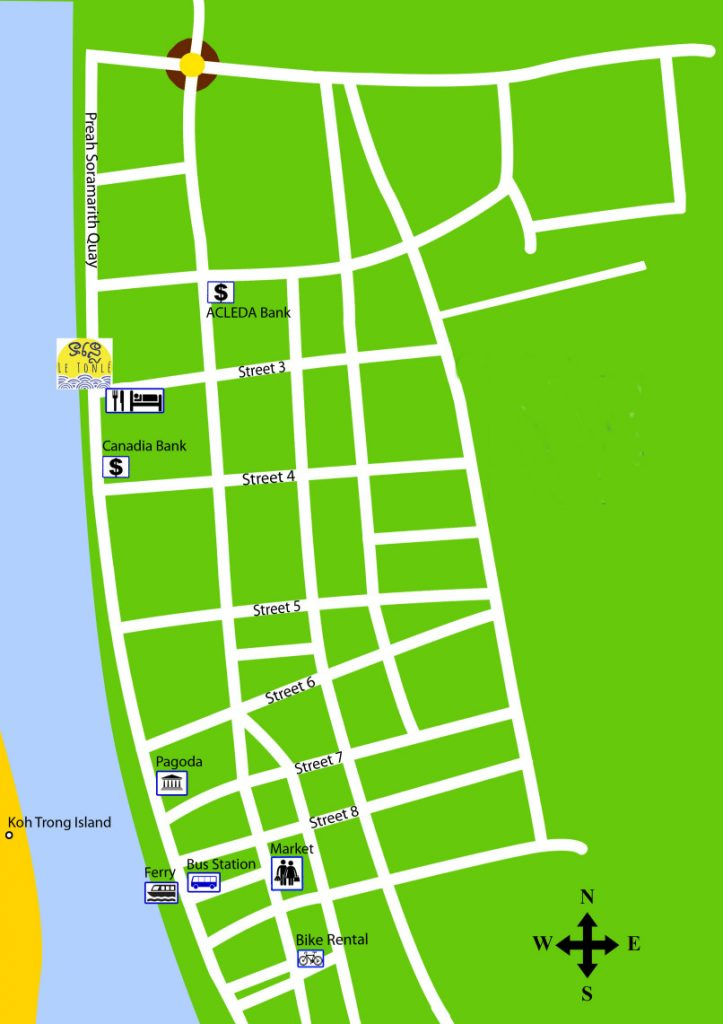Kratie map