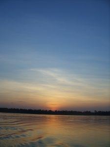Kratie Sunset Koh Trong