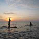 SUP in Kratie Cambodia Mekong River Stand up paddle board